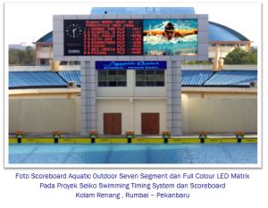 Foto-Scoreboard-Aquatic-Outdoor-Seven-Segment-dan-Full-Colour-LED-Matrix-rumbai murticahaya
