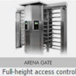 full height skidata access control